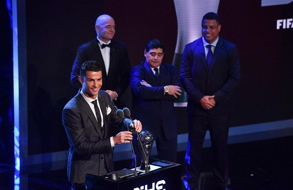 ФИФА  Кристијано Роналдо најдобар во 2017 година