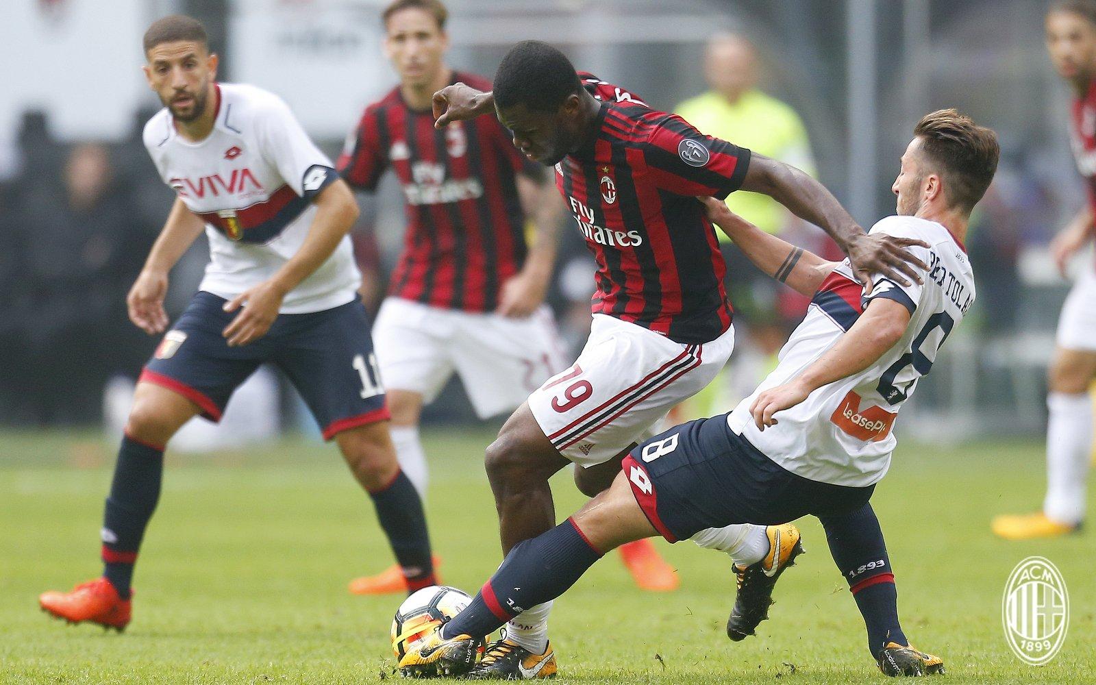 Нова  нула  за Милан