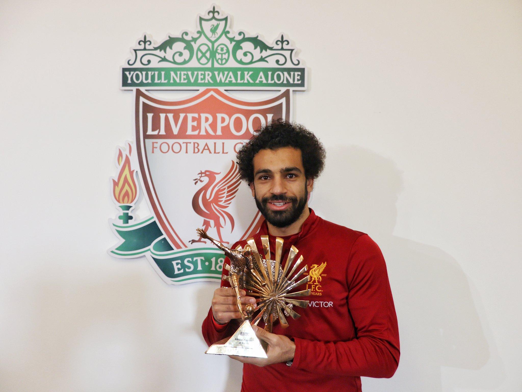 Салах е најдобар африкански фудбалер според  Би би си
