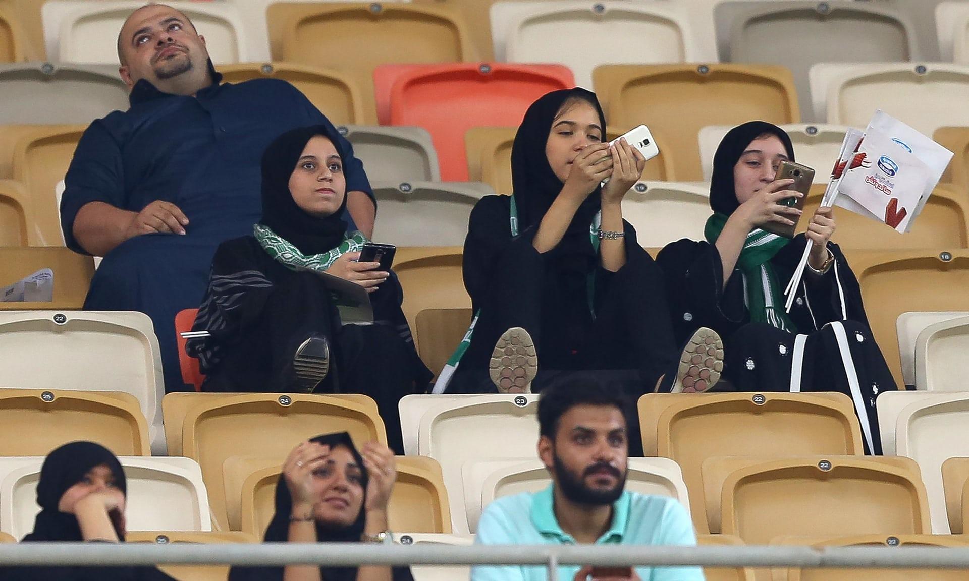И тоа се случи   саудиските дами на фудбалски меч  галерија