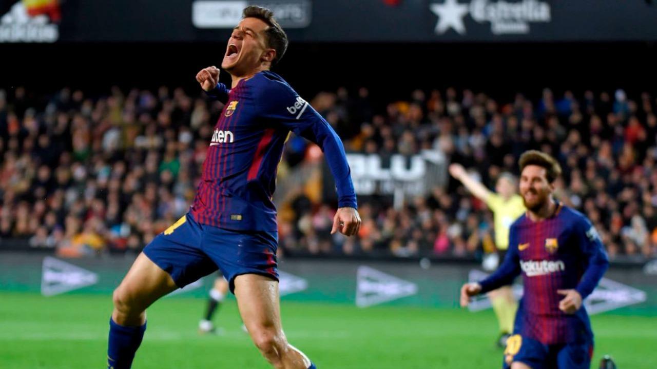 Кутињо за разликата Ливерпул Барселона  Супер е да се игра со големи играчи