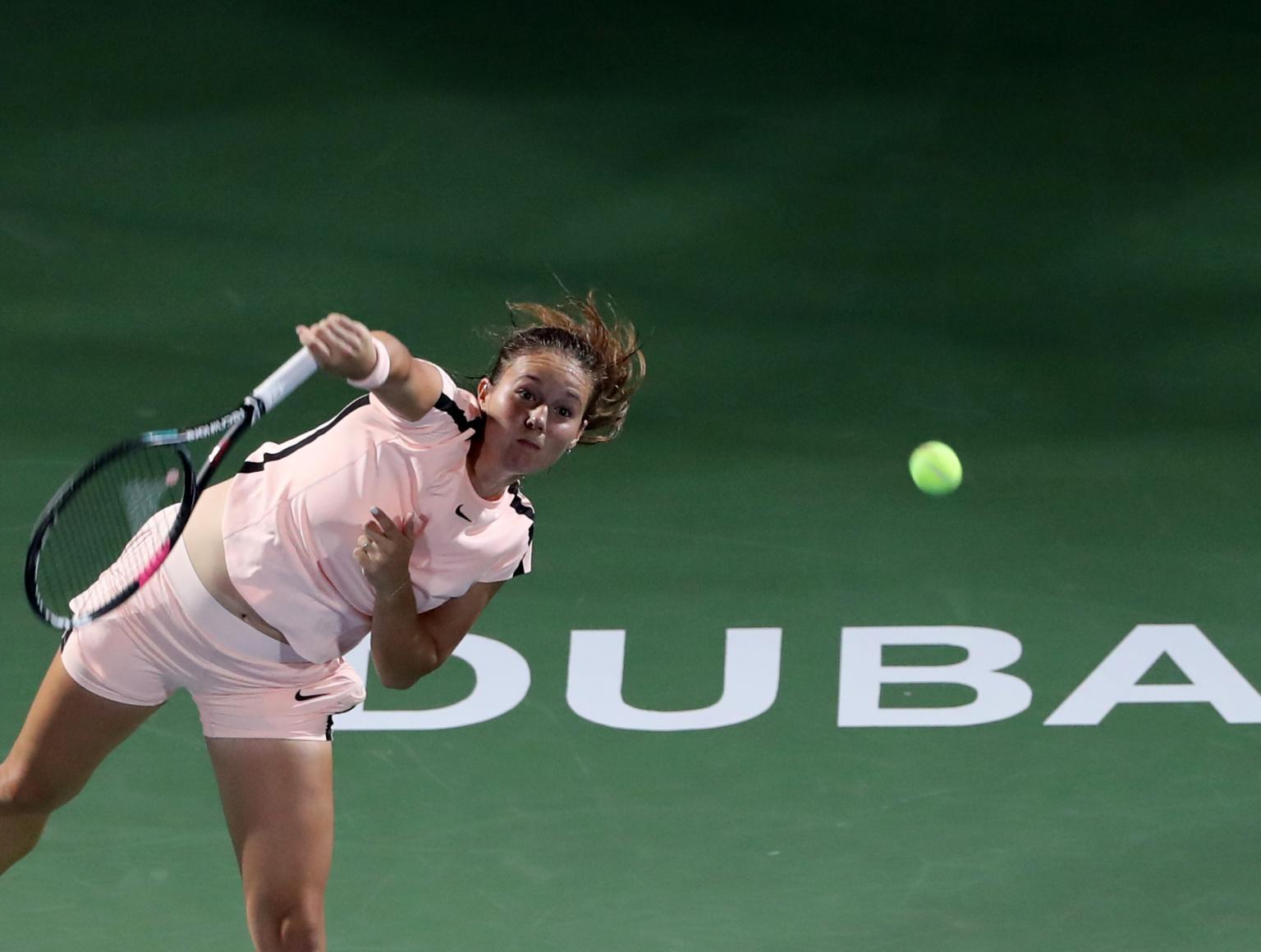 Касаткина и Свитолина за титулата во Дубаи