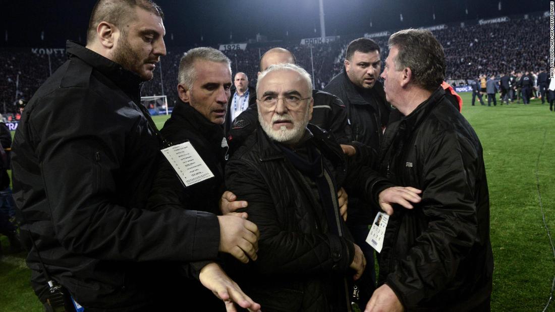 Савидис  Јас сум заложник на болниот фудбалски систем во Грција